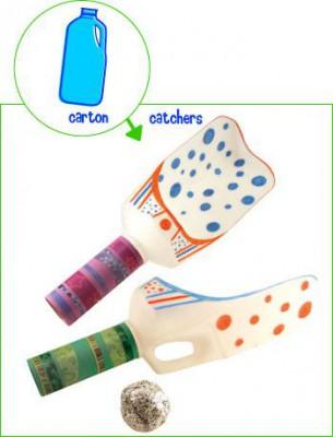 Juguetes reciclados para la playa y el jardín.  (13)
