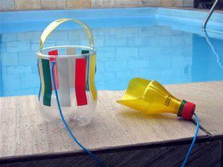 Juguetes reciclados para la playa y el jardín.  (8)