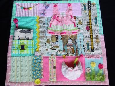 Mantas y cojines DIY para el desarrollo sensorial y motriz (9)