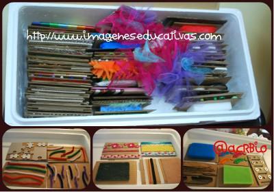 Nueva Caja de almacenamiento de textura DIY Collage 2