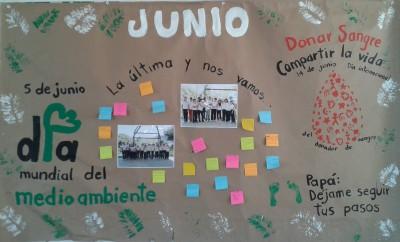 Periodico Mural Dia Mundial Del Medio Ambiente