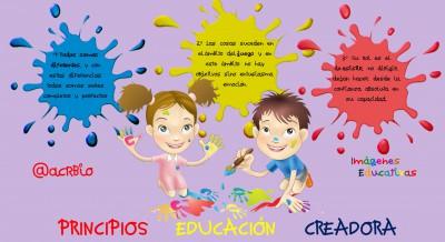 PRINCIPIOS  EDUCACIÓN  CREADORA 2.0