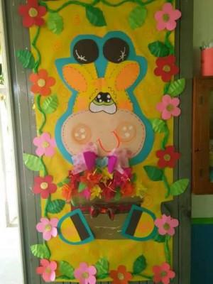 S per colecci n con m s de 100 puertas para nuestras for Puertas decoradas primavera