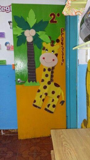 Puertas de clase 15 imagenes educativas for Puertas decoradas educacion infantil