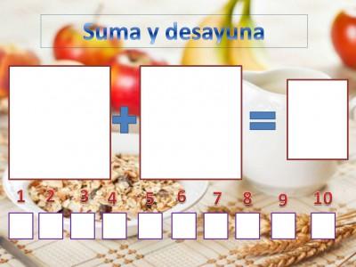 Suma y desayuna