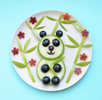 Decoraciones veraniegas para nuestros platos de fruta (10)