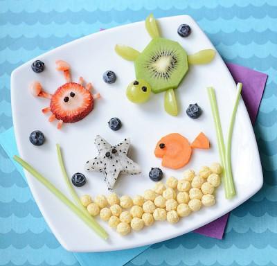 Decoraciones veraniegas para nuestros platos de fruta (11)