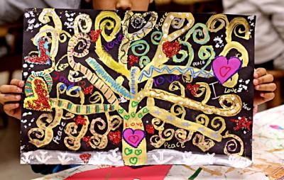 El arte en el aula trabajamos con Gustav Klimt  (11)