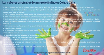 Los deberes originales de Cesare Cata