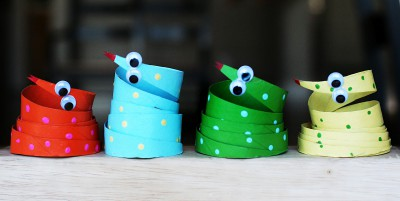 Manualidades con rollos de papel higiénico  (45)