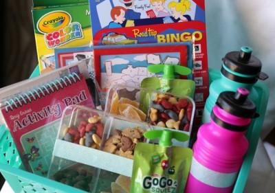 kits de viaje y organizadores de coche DIY Para viajar con niños (17)