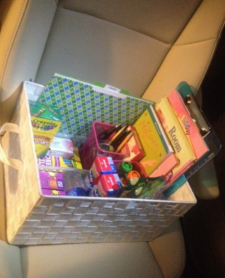 kits de viaje y organizadores de coche DIY Para viajar con niños (18)