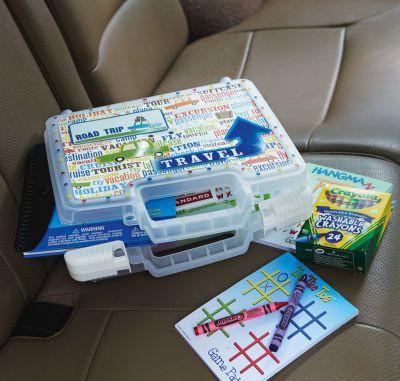 kits de viaje y organizadores de coche DIY Para viajar con niños (3)