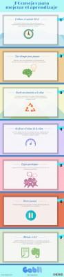 7 Consejos para Mejorar el Aprendizaje Infografía