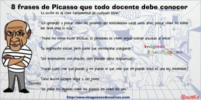 8 frases de Picasso que todo docente debe conocer 2
