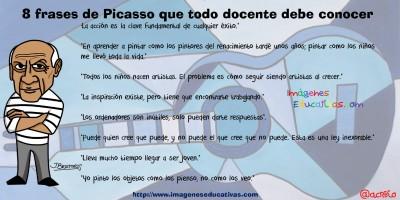8 frases de Picasso que todo docente debe conocer
