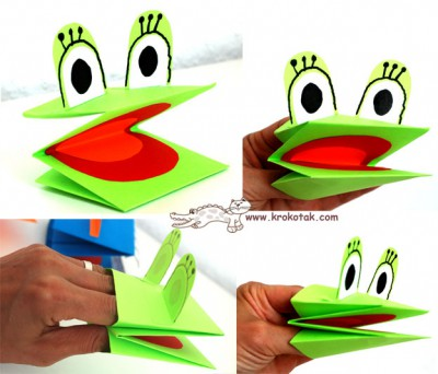 Marionetas de cartulina para manos (3)