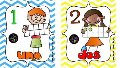 Un Paquete Imprimible De Tarjetas Para Aprender Los Números Del 1 Al 20 Imagenes Educativas