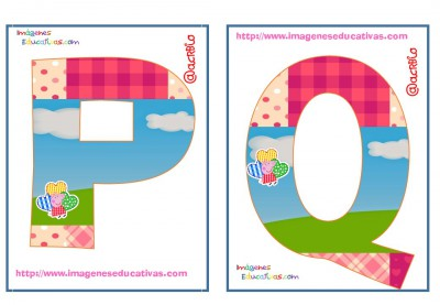 Abecedario Peppa Pig (9)