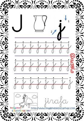 Cuaderno de trazos Imágenes Educativas letra escolar (10)