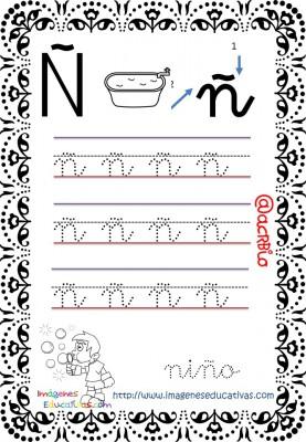 Cuaderno de trazos Imágenes Educativas letra escolar (15)