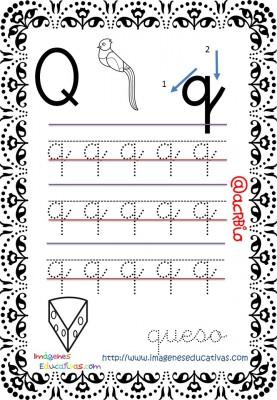 Cuaderno de trazos Imágenes Educativas letra escolar (18)