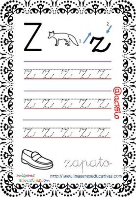 Cuaderno de trazos Imágenes Educativas letra escolar (27)