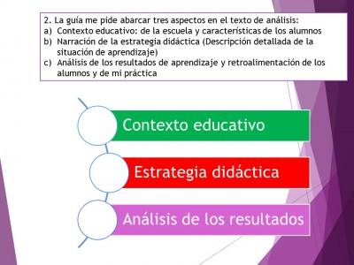 Expediente o portafolios de evidencias. Autoevalua tu texto de análisis (3)