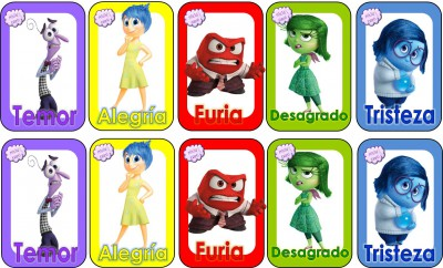 Memorama Del revés (Inside Out)