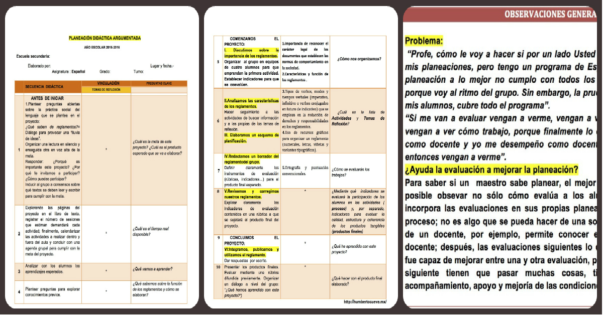 Un ejemplo de planeaci n did ctica argumentada imagenes for Arquitectura basica pdf