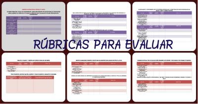 RUBRICAS DE LENGUAJE Y COMUNICACIÓN PORTADA