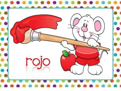 Tarjetas aprendemos los colores con en ratón Colorín (6)