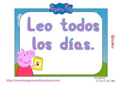 Tarjetas normas de clase Peppa Pig (7)
