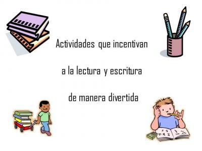 actividades que incentiven la lectura y escritura de manera divertida (00)