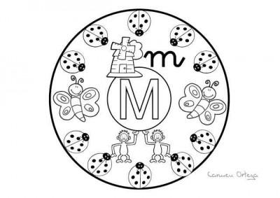 Abecedario De Mandalas Para Colorear Listo Para Descargar E