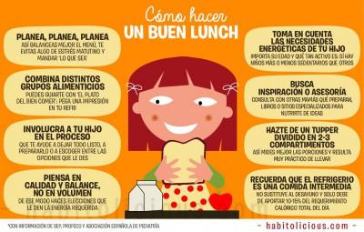 Como hacer un buen almuerzo