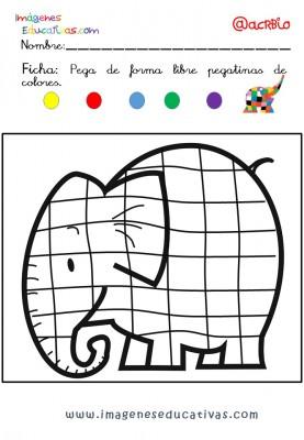 Elmer Elefante atención y grafo (12)