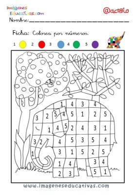 Elmer Elefante atención y grafo (2)