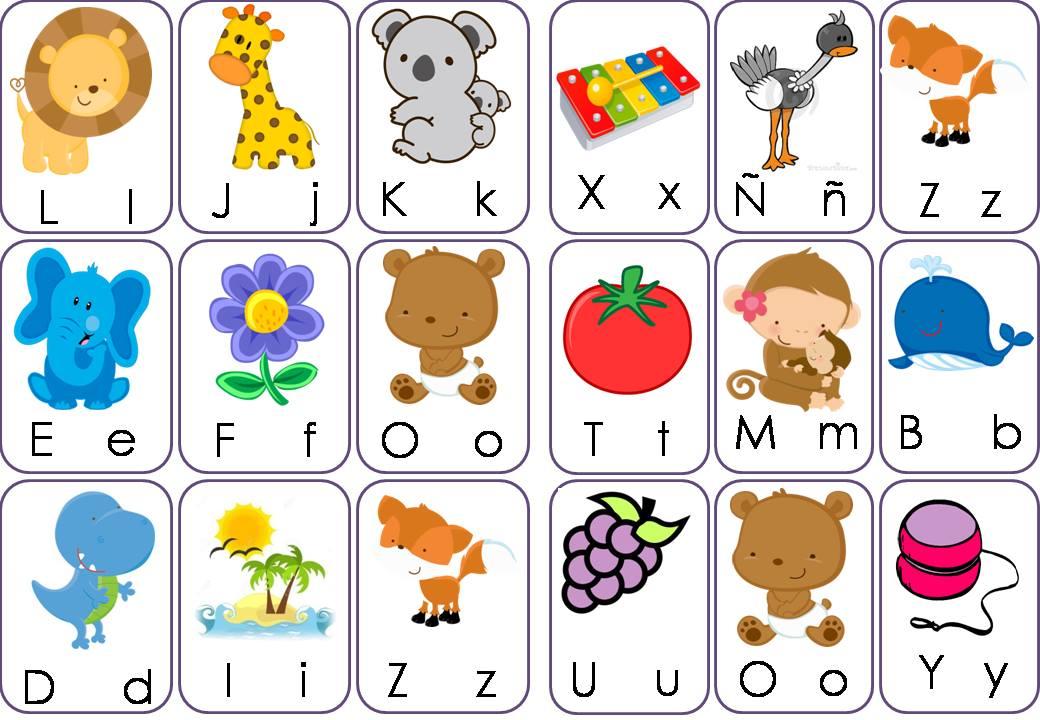 Lotería de letras formato pequeño (9) - Imagenes Educativas