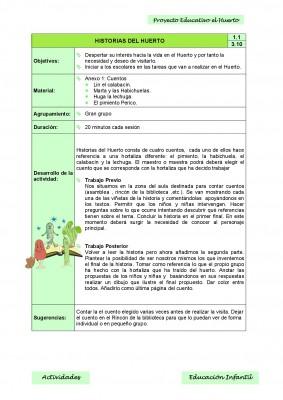 Nuestro proyecto educativo. El huerto escolar (4)