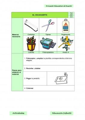 Nuestro proyecto educativo. El huerto escolar (9)