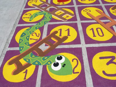 Nuevos diseños de juegos tradicionales para decorar nuestro patio (14)
