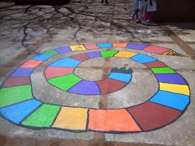 Nuevos diseños de juegos tradicionales para decorar nuestro patio (40)