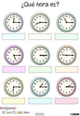 Trabaja las horas y los relojes (20)