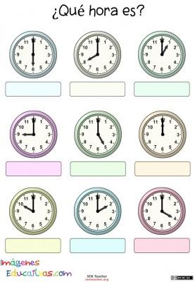 Trabaja las horas y los relojes (4)