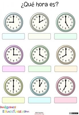 Trabaja las horas y los relojes (6)
