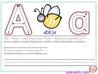 ABECEDARIO aprendemos a escribir (3)