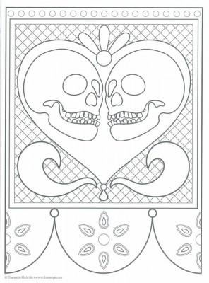 Dibujos para colorear el día de los muertos (12)