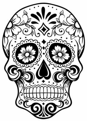 Dibujos para colorear el día de los muertos (24)