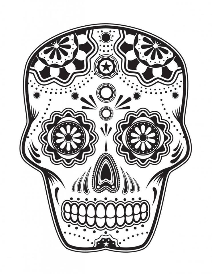 Dibujos para colorear el día de los muertos (41 ...